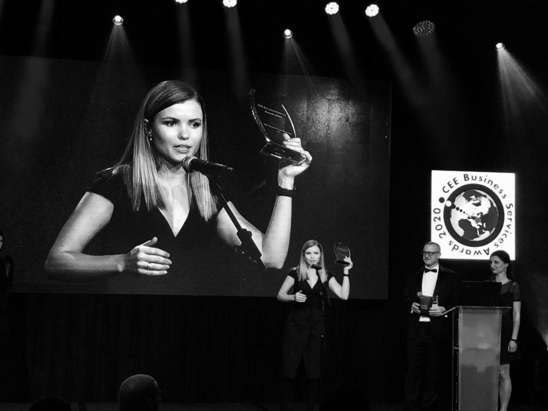 立陶宛代表在中東歐共享服務和外包獎中獲勝
